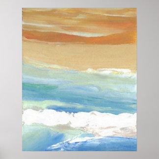 CricketDiane Ocean Poster - Surfing Waves Motion