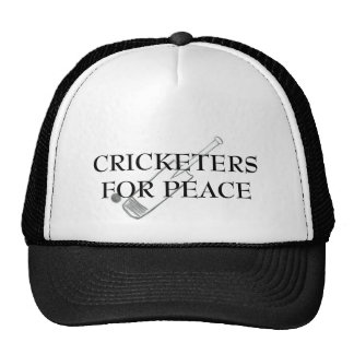 Cricketers For Peace Hat