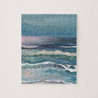 Cricket's Ocean - Beach Seascape Jigsaw Puzzle