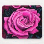 Cricket's Pink Rose Romantic Pretty Pastel Mum Mousemat