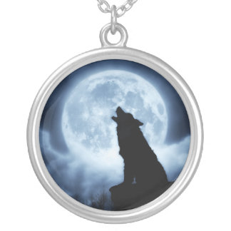 Cries of the Night Wolf Necklace