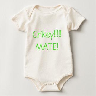 Crikey!!!!! MATE! Baby Bodysuit
