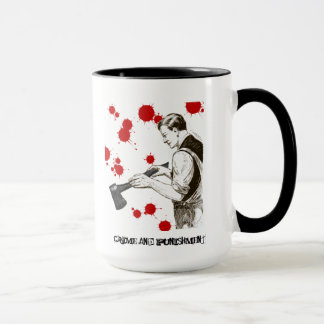 Crime and punishment mug