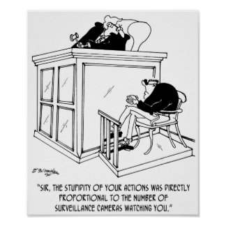Crime Cartoon 7348 Poster