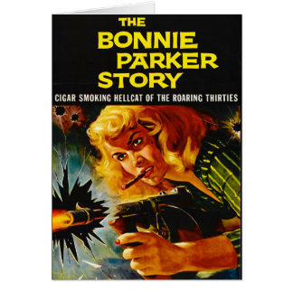 Crime Movie Poster 1958 Card