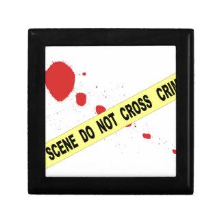 Crime Scene Do Not Cross Gift Box