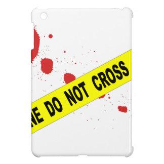 Crime Scene Do Not Cross iPad Mini Covers