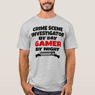 Crime Scene Investigator Gamer T-Shirt