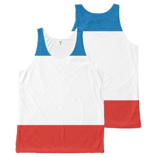 Crimea Flag All-Over Print Singlet
