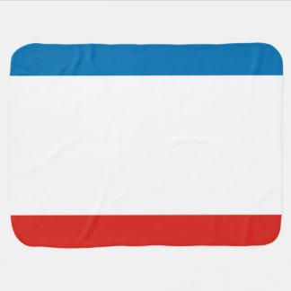 Crimea Flag Baby Blanket