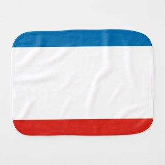Crimea Flag Burp Cloth