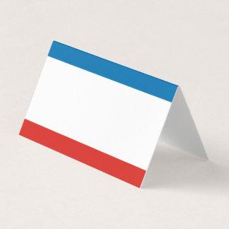 Crimea Flag Business Card