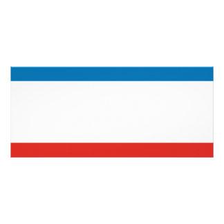 Crimea Flag Rack Card
