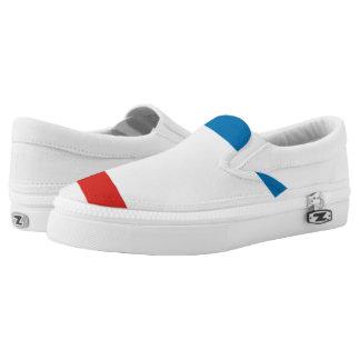 Crimea Flag Slip-On Shoes