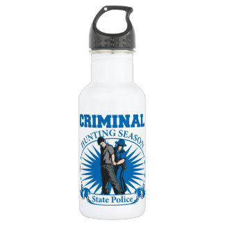 Criminal Hunting Season State Police 532 Ml Water Bottle