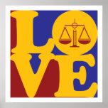 Criminal Justice Love Print