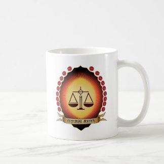 Criminal Justice Mandorla Coffee Mugs