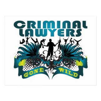 Criminal Lawyers Gone Wild Postcard