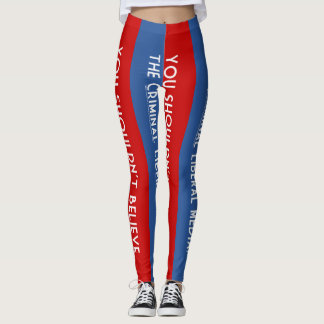 Criminal Liberal Media Leggings
