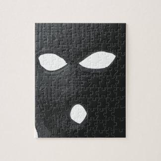 criminal-mask jigsaw puzzle