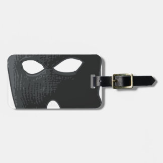 criminal-mask luggage tag