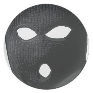 criminal-mask plate