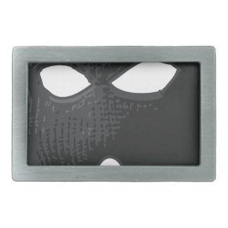 criminal-mask rectangular belt buckles