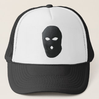 criminal-mask trucker hat