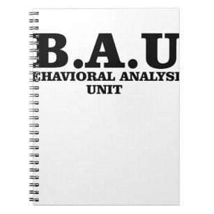 a52ace551008 Criminal Minds BAU Behavioural Analysis Unit Notebook