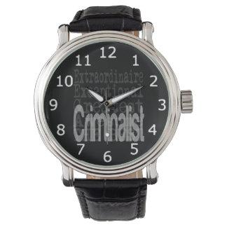 Criminalist Extraordinaire Watch