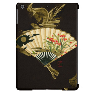 Crimped Oriental Fan with Floral Design iPad Air Case