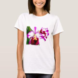 Crimson and Purple Cattleya Orchids T-Shirt