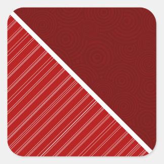 Crimson & Cardinal Red Stickers