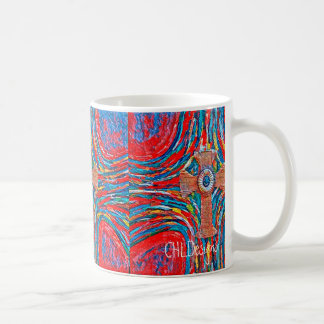 Crimson Cross Coffee Mug