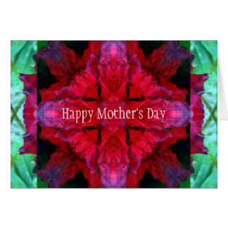 Crimson Crossing Mother's Day Card