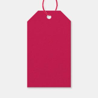 Crimson Gift Tags