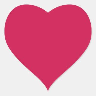 Crimson Heart Sticker