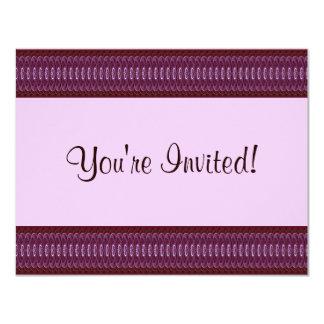 Crimson Hearts 9024b 11 Cm X 14 Cm Invitation Card