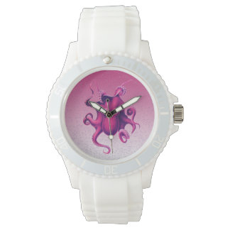 crimson octopus watch