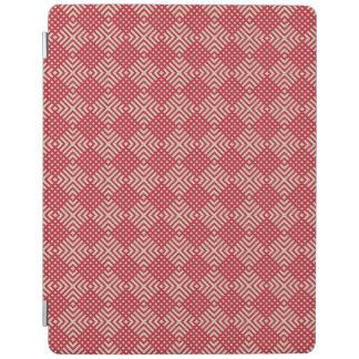 Crimson Red & Cornsilk Cream iPad Cover