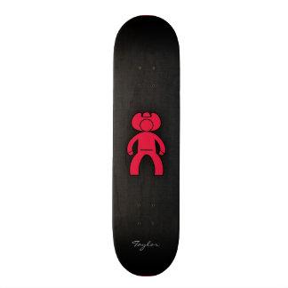 Crimson Red Cowboy Skate Board