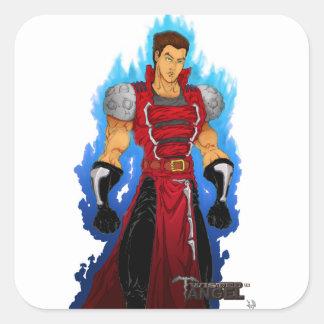 Crimson Royal Square Sticker