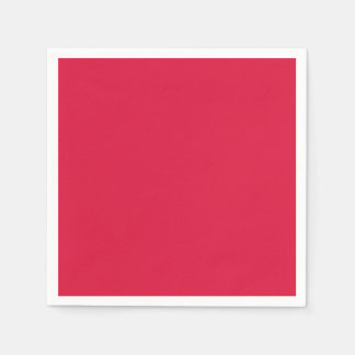 Crimson Standard Cocktail Paper Napkin