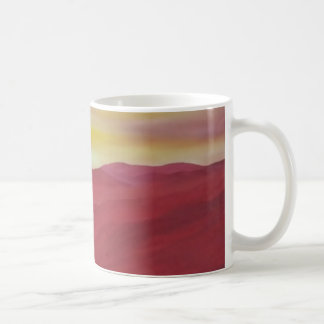 Crimson Sunrise coffee mug