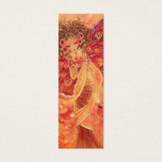 Crimson Wings Bookmark Mini Business Card