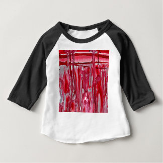 crimson winter landscape 121517 baby T-Shirt