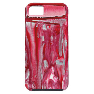 crimson winter landscape 121517 iPhone 5 cover