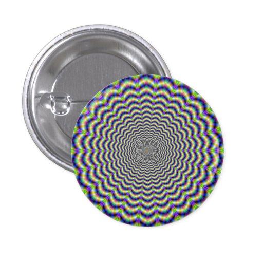 Crinkle Cut Circles Button