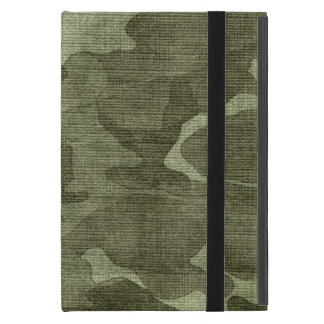 Crinkled Camo Camouflage Pattern iPad Mini Case