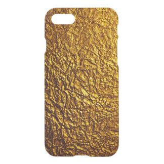 Crinkled Gold Leaf iPhone Case